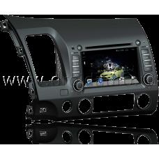 Штатная магнитола HiCES ANHO707 для Honda Civic 4D (Android 4)