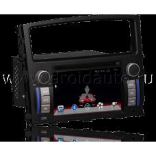 Штатная магнитола HiCES ANMI701 для Mitsubishi Pajero IV (Android 4)
