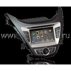 Штатная магнитола HiCES ANHY710 для Hyundai Elantra 5 (MD) (Android 4)