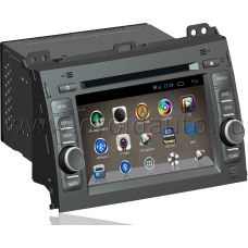 Штатная магнитола HiCES ANTO715 для Toyota land Cruiser Prado 120 (Android 4)