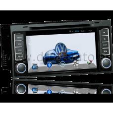 Штатная магнитола HiCES ANVO703 для Volkswagen Touareg (Android 4)