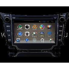 Штатная магнитола HiCES ANHY720 для Hyundai i30 GD (Android 4)