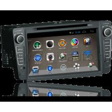 Штатная магнитола HiCES ANVO804 для Skoda Octavia (Android 4)