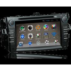 Штатная магнитола HiCES ANTO810 для Toyota Corolla E150 (Android 4)